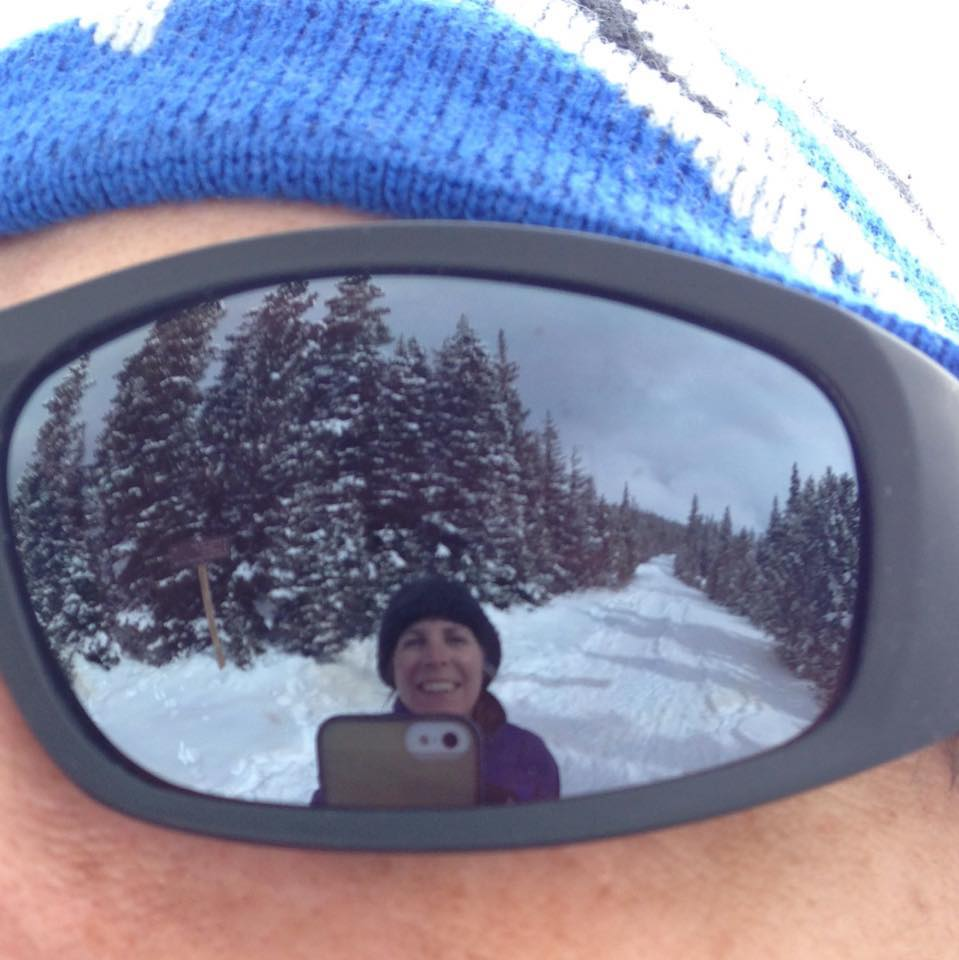 Brainard Lake Sunglass Reflection